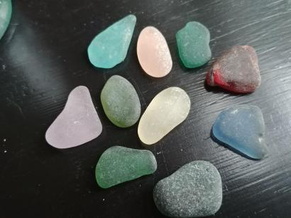 112. rare seaglass colors